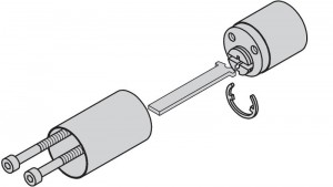 Extension kit for external cylinders.