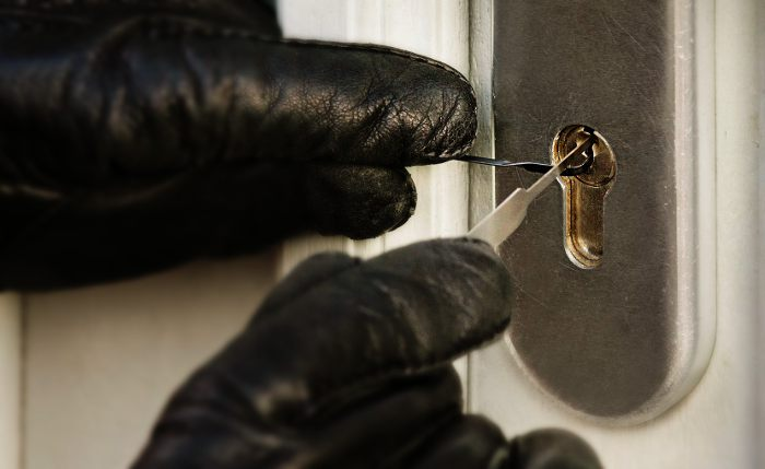 Techniques like lock picking are only used by thieves in 5% of cases.
