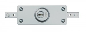 The new Viro 8271 armoured lock for shutters, with interchangeable half cylinder.