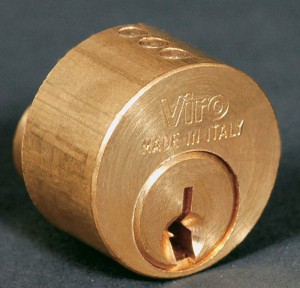 Round profile cylinder.