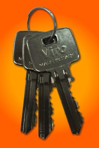 The keys have a large grip so that they can be easily handled even when wearing work gloves.