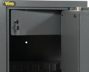 The safety box of a Viro gun cabinet
