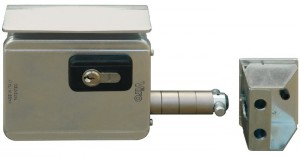 Viro V09 lock is the first electric lock specifically designed for sliding gates.