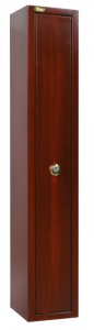 "The special ""wood effect"" painting available on request for the Viro security cabinets"