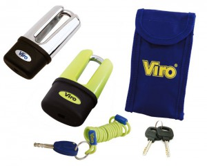 The Viro Armoured Extreme can be used both as a crown lock and as a disc lock.