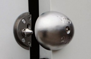 The additional Viro Van Lock offers greater security and convenience compared to a normal padlock.