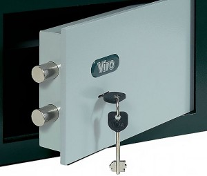 Viro safe key lock.