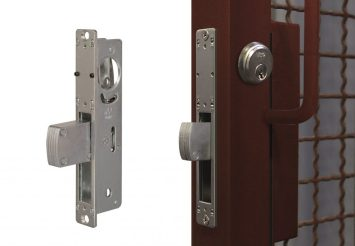 Mortise lock with Viro swing hook bolt item 8513