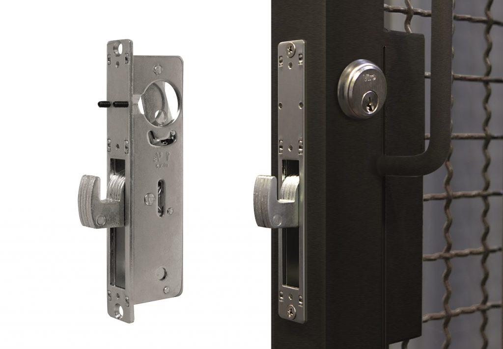 Mortise lock with Viro swing deadbolt item 8506